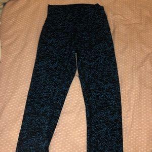 Cropped ankle blue lulu leggings